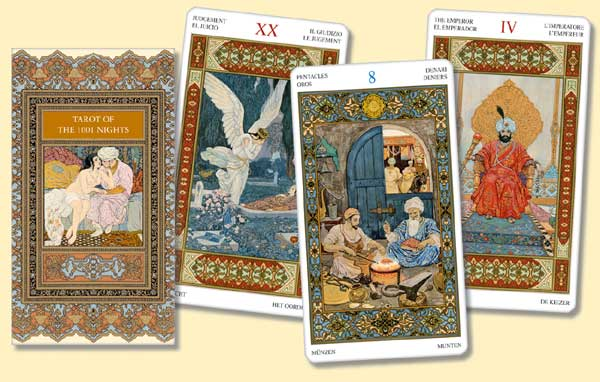 Tarot Tisíce a jedné noci - Tarot of the Thousand and One night