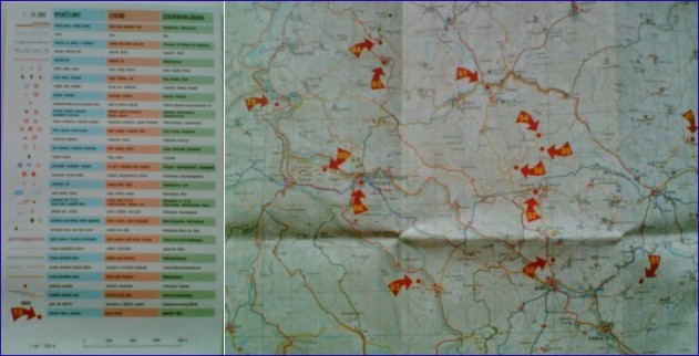 Mapa Tajemnych Mist Sumavy A Jiznich Cech Pruvodce Tajemnymi