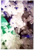 Image of Léčivý obrázek s krystaly z diamantové vody - zeleno-modrý 10x15 cm