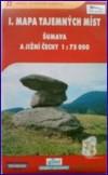 obálka knihy Mapa tajemných míst